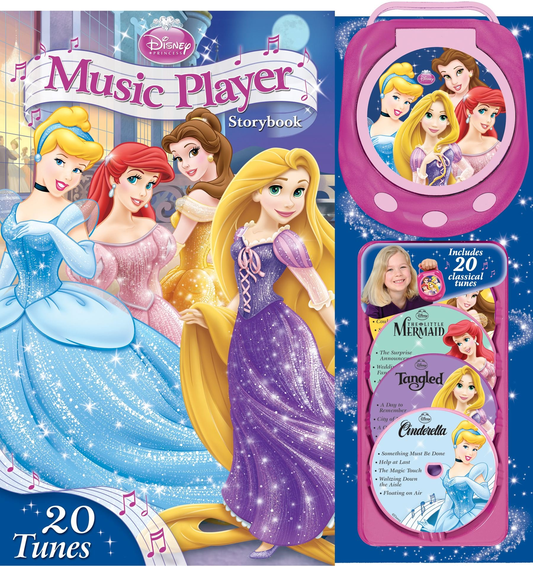 Disney Princess Music Player Storybook at Sears.com